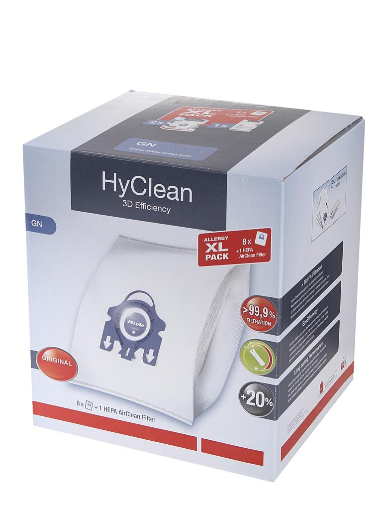 Мешки для пылесосов Miele Allergy GN XL-Pack 2 HyClean + фильтр