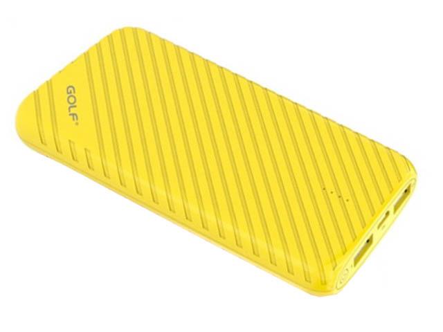 Внешний аккумулятор Golf Edgee Power Bank G17 8000mAh Yellow