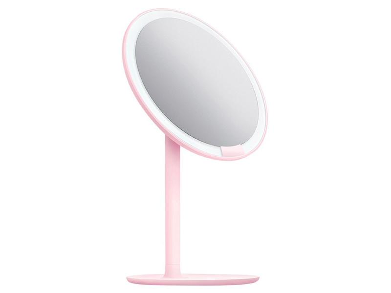 Зеркало для макияжа Xiaomi Amiro Lux High Pink