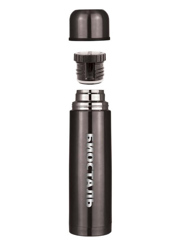 Термос Biostal 1L NB-1000V Gunmetal Black