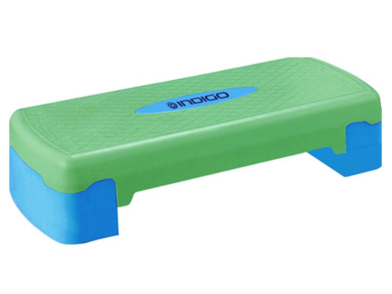 Степ-платформа Indigo IN171 68х28х15 см Blue-Green