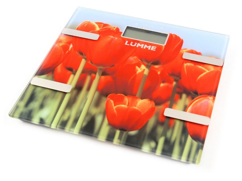 Весы напольные Lumme LU-1333 Tulips