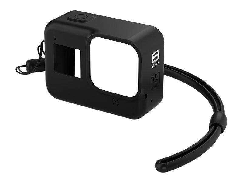 цена на Аксессуар Lumiix GP397-R8 Black для GoPro Hero 8 силиконовый чехол