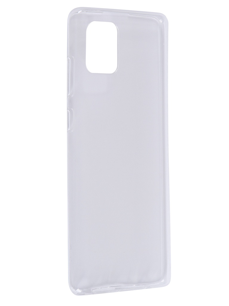 Чехол Zibelino для Samsung Galaxy Note 10 Lite N770 Ultra Thin Case Transparent ZUTC-SAM-NOTE10L-WHT