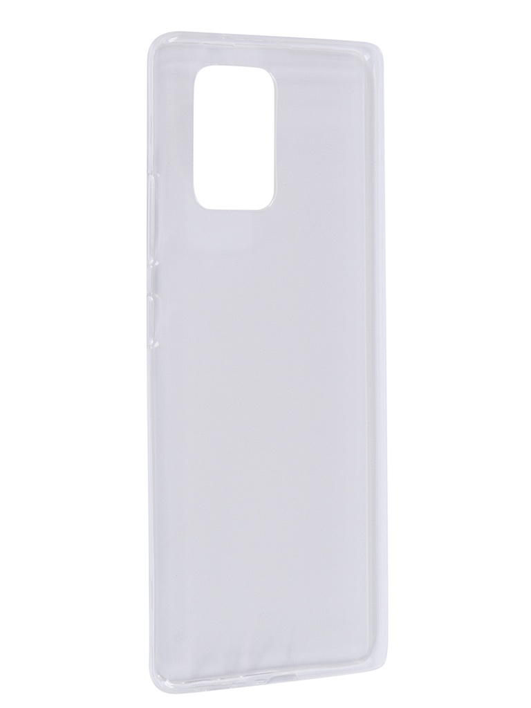 Чехол Zibelino для Samsung Galaxy A91/S10 Lite A915 Ultra Thin Case Transparent ZUTC-SAM-A91-WHT чехол zibelino для samsung galaxy a7 a750 2018 ultra thin case transparent zutc sam a750 wht