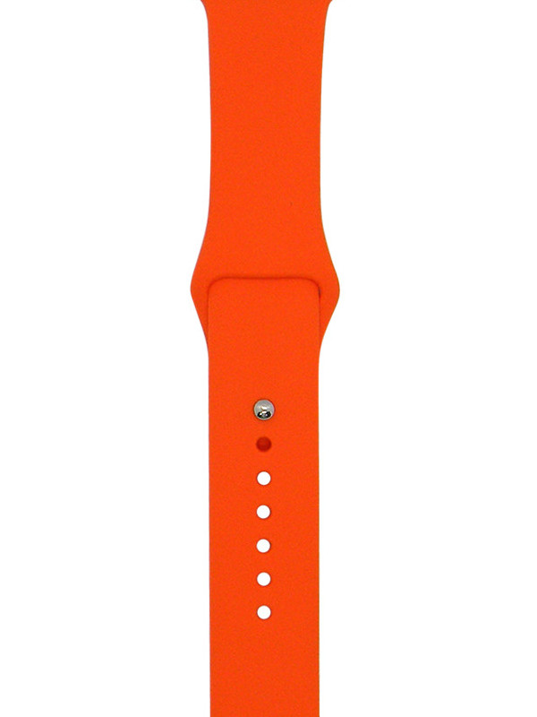 Аксессуар Ремешок Eva Silicone для APPLE Watch 38/40mm Orange AVA001OR