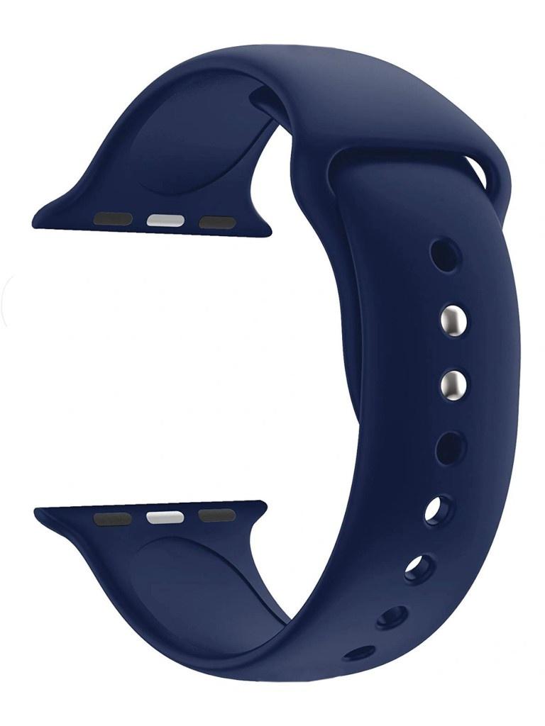 Фото - Аксессуар Ремешок Eva Silicone для APPLE Watch 42/44mm Cobalt Blue AWA001BC eva ремешок спортивный для apple watch 42 44mm розовый
