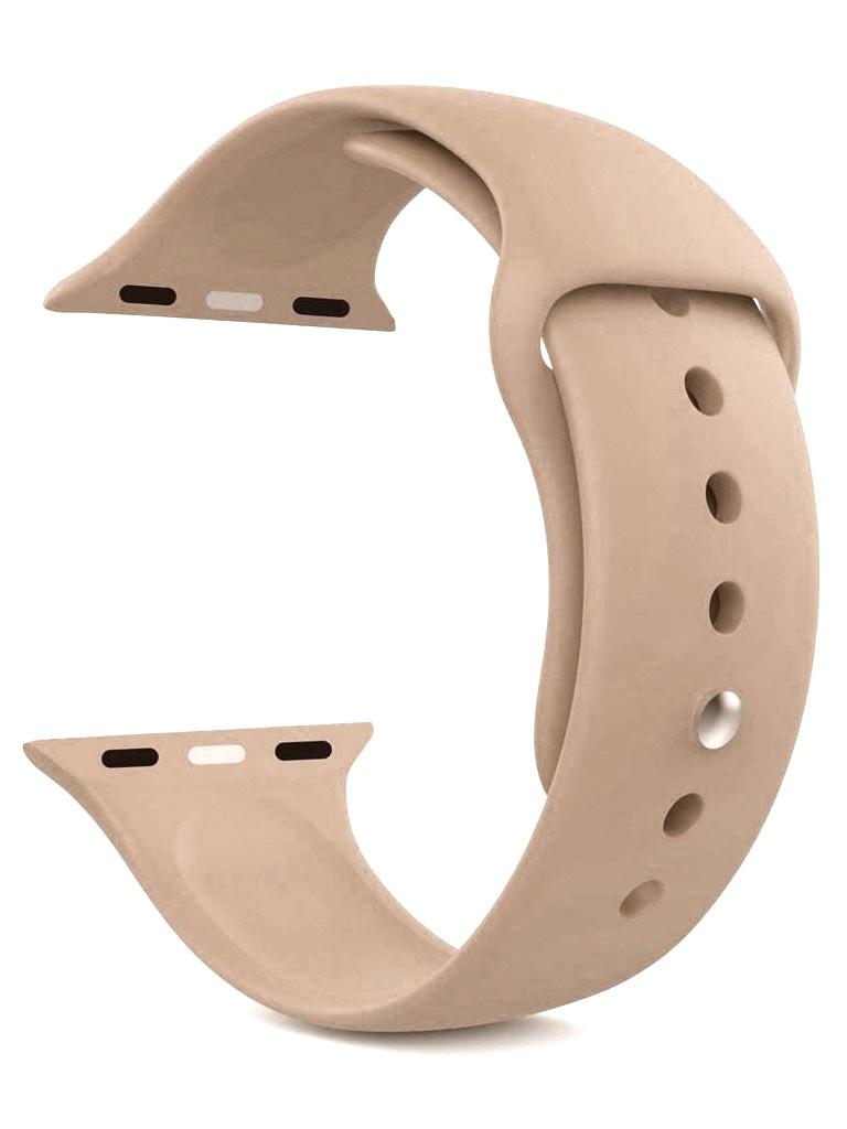 Фото - Аксессуар Ремешок Eva Silicone для APPLE Watch 42/44mm Walnut AWA001WN eva ремешок спортивный для apple watch 42 44mm розовый