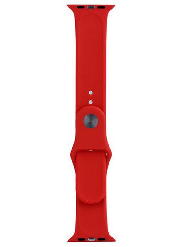 Фото - Аксессуар Ремешок Eva Silicone для APPLE Watch 42/44mm Red AWA001R eva ремешок спортивный для apple watch 42 44mm розовый