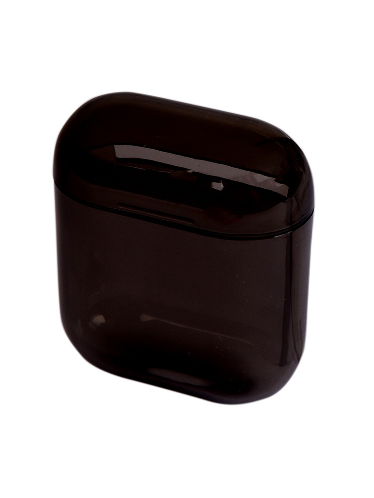 Чехол Eva для APPLE AirPods 1/2 Transparent-Black CBAP24TRB