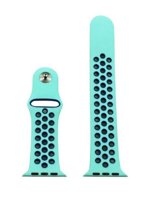 Аксессуар Ремешок Eva Nike для APPLE Watch 38/40mm Light Blue-Blue AVA012BB