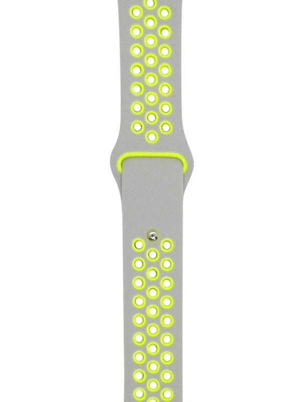 Аксессуар Ремешок Eva Nike для APPLE Watch 38/40mm Grey-Yellow AVA012WY ремешок спортивный eva для apple watch 38mm белый желтый ava012wy