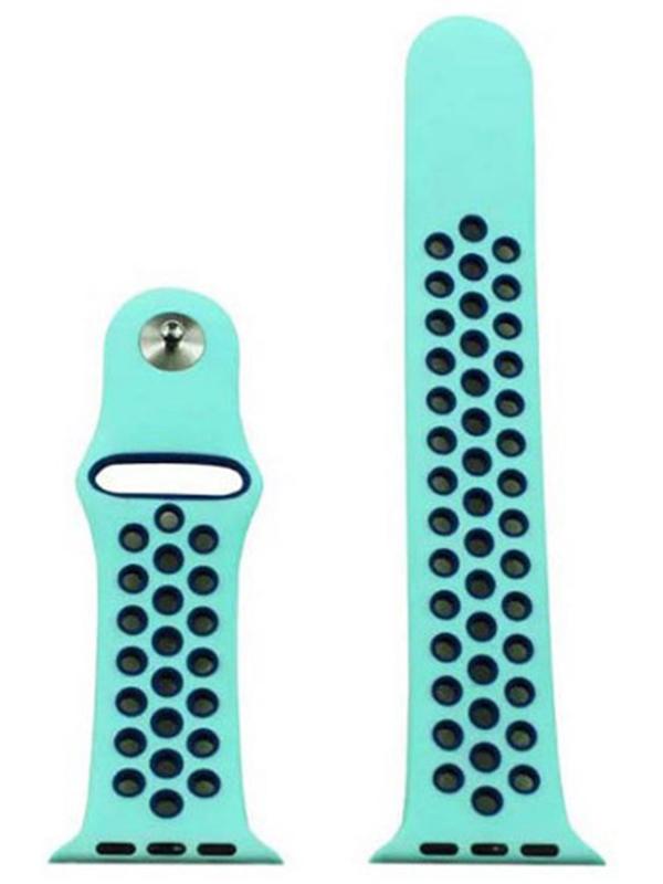 Аксессуар Ремешок Eva Nike для APPLE Watch 42/44mm Light Blue-Blue AWA012BB