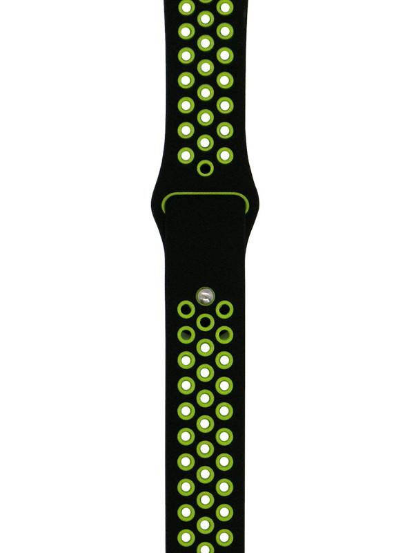 Аксессуар Ремешок Eva Nike для APPLE Watch 42/44mm Black-Green AWA012BG