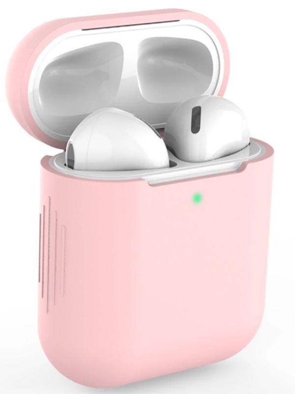 Чехол Eva для APPLE AirPods 1/2 Pink CBAP04P