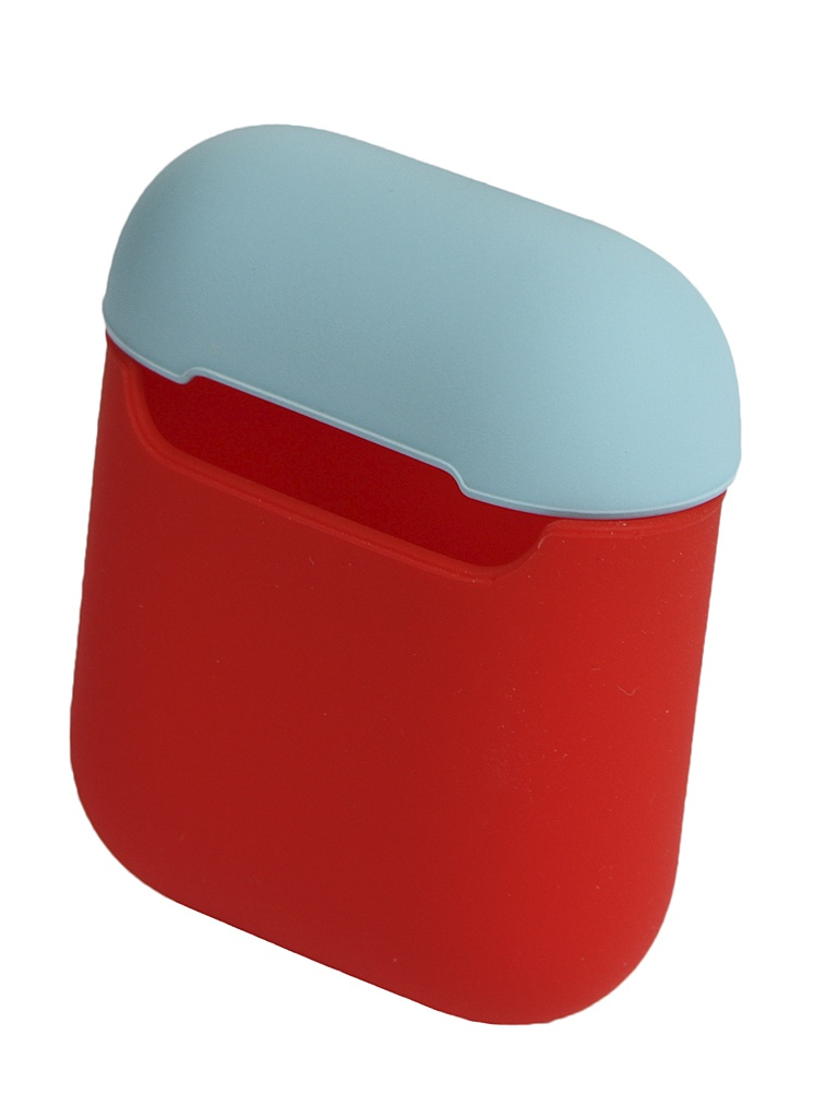 Чехол Eva для APPLE AirPods 1/2 Red-Turquoise CBAP03RTQ