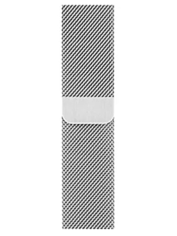 Фото - Аксессуар Ремешок Eva Milanesse для APPLE Watch 42/44mm Silver AWA002S eva ремешок спортивный для apple watch 42 44mm розовый