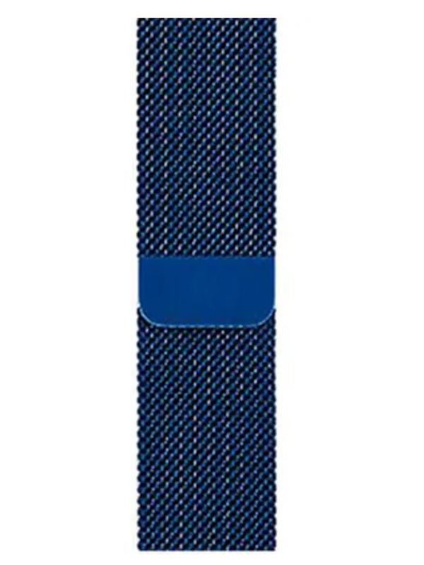 Фото - Аксессуар Ремешок Eva Milanesse для APPLE Watch 42/44mm Blue AWA002BL eva ремешок спортивный для apple watch 42 44mm розовый