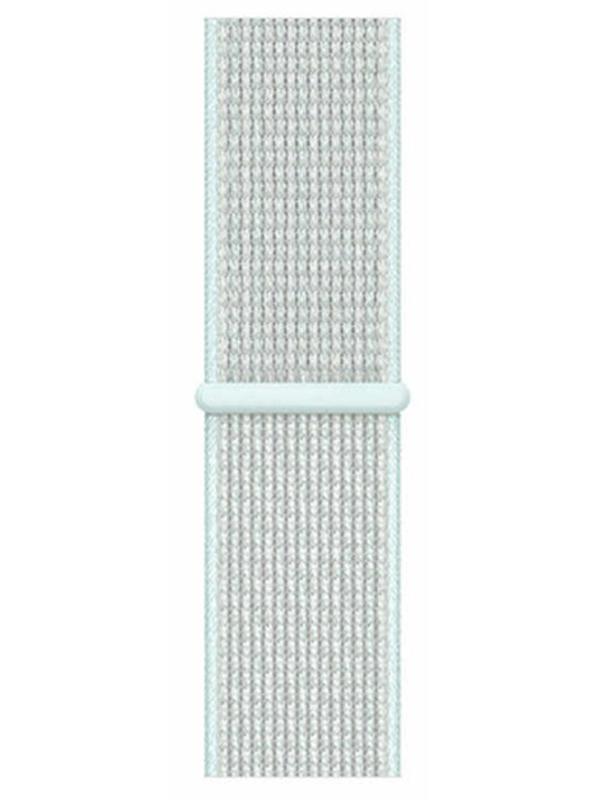 Аксессуар Ремешок Eva Nylon для APPLE Watch 38/40mm Light Turquoise AVA009TT