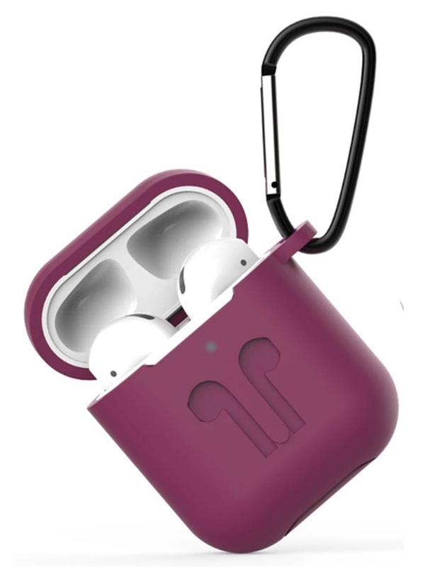Чехол Eva для APPLE AirPods 1/2 Purple CBAP01PR