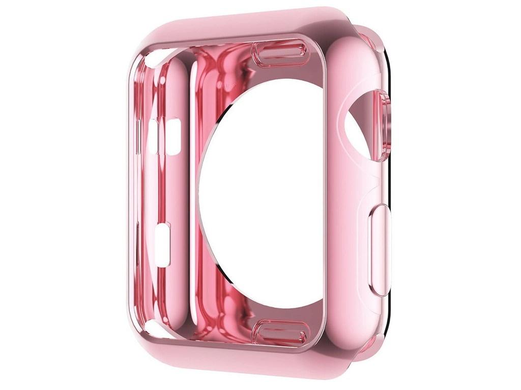Аксессуар Чехол Eva Silicone для APPLE Watch 44mm Pink ADC005P