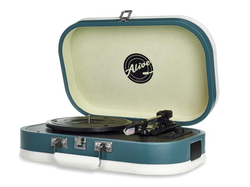 Проигрыватель Alive Audio Vintage Cold Wave VNT-02-CW