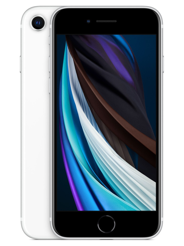 Сотовый телефон APPLE iPhone SE (2020) - 256Gb White MXVU2RU/A