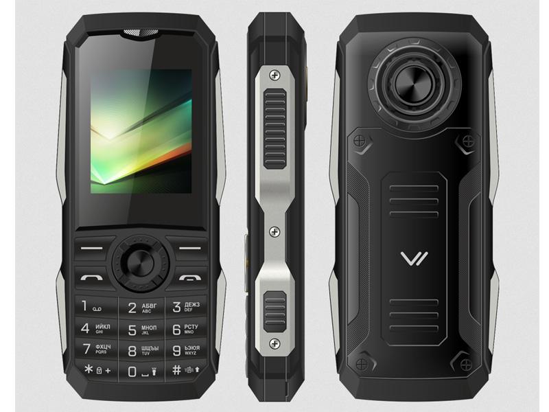 Фото - Сотовый телефон VERTEX K211 Black-Silver сотовый телефон
