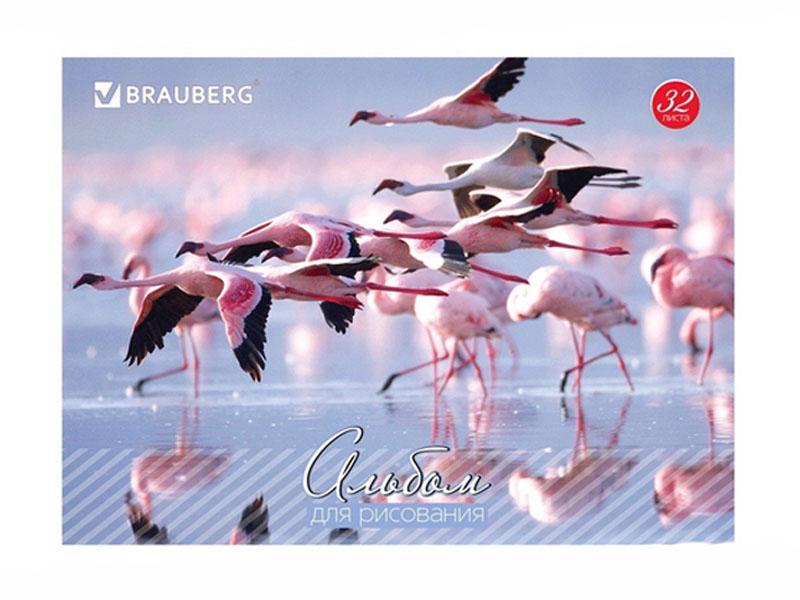 Альбом для рисования Brauberg Живая природа 202x283mm А4 32 листа 103683