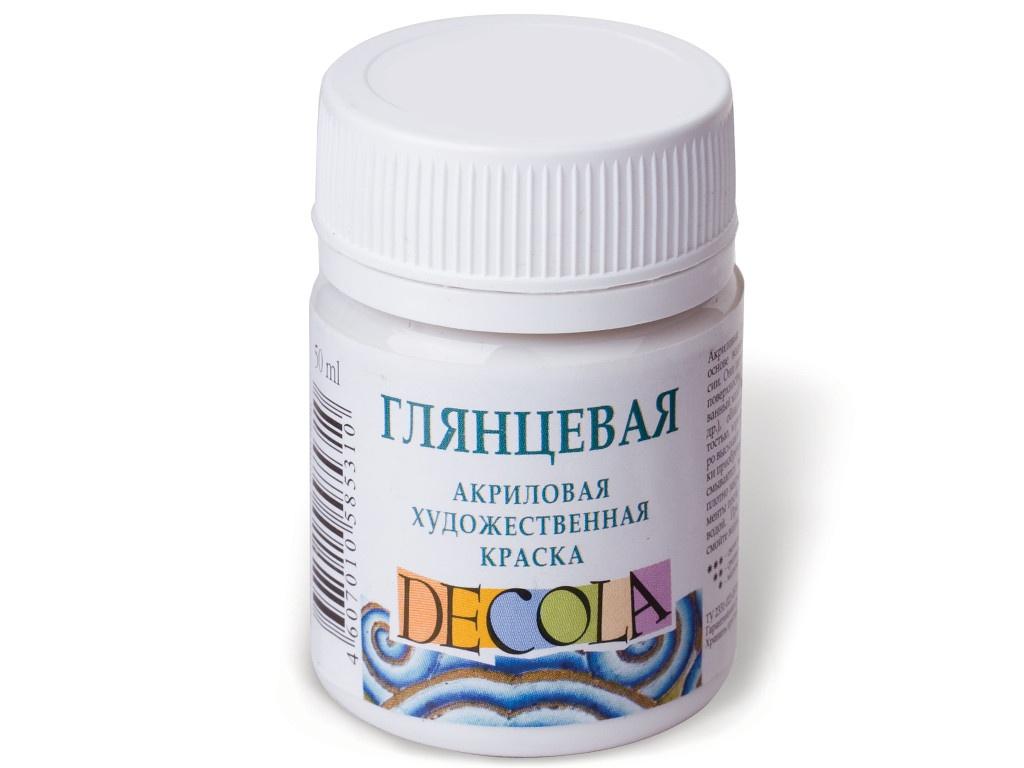 Краска акриловая Невская Палитра Декола 50ml Titanium 2928101/2928104