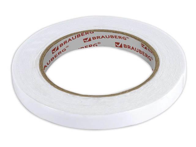 Клейкая лента двусторонняя Brauberg 12mm x 5m 227269