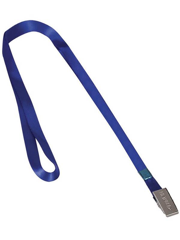 Лента для бейджей Brauberg 45cm Blue 235733