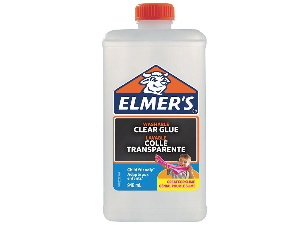 Слайм Elmers Clear Glue для слаймов 946ml 2077257