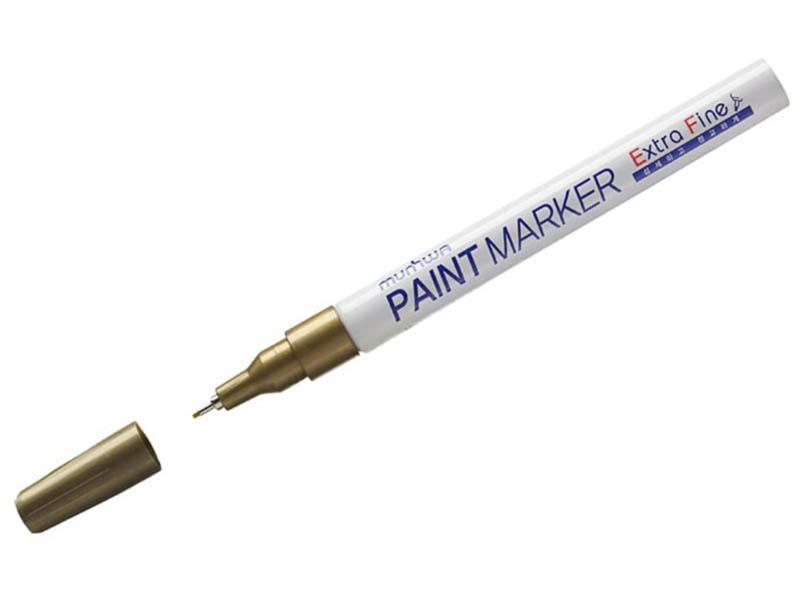 Маркер MunHwa Extra Fine Paint Marker 1mm Gold EFPM-07