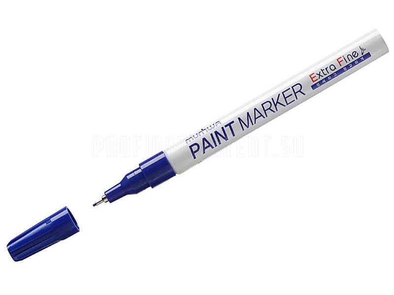 Маркер MunHwa Extra Fine Paint Marker 1mm Blue EFPM-02