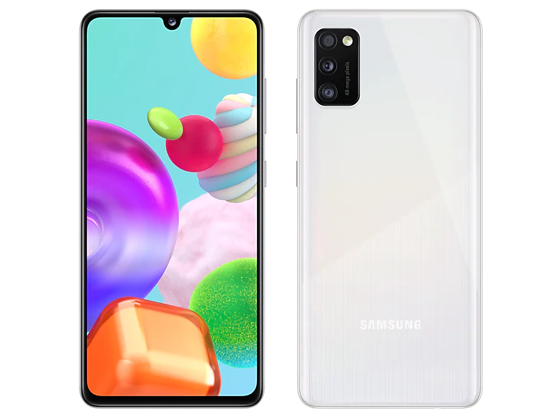 Сотовый телефон Samsung SM-A415F Galaxy A41 4/64Gb White