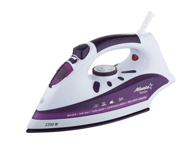 Утюг Atlanta ATH-5541 Violet