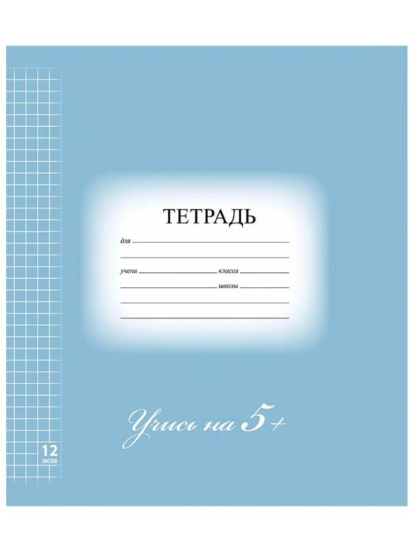 Тетрадь Brauberg Эко 5-КА 12 листов Blue 104760
