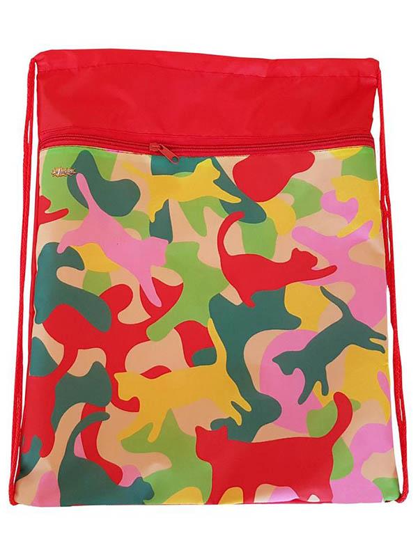 Мешок для обуви №1 School Crazy Cats 370x470mm 1017940