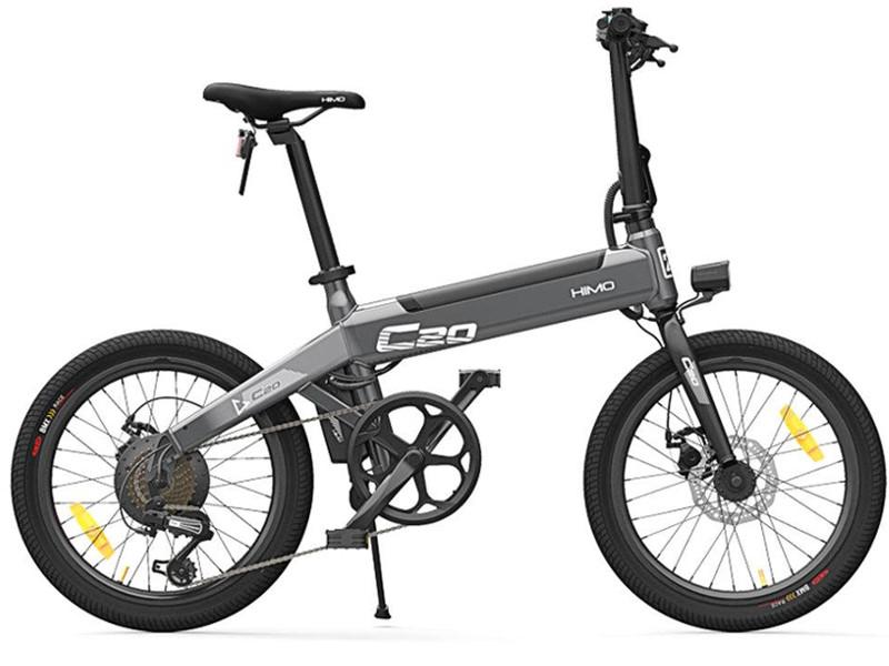 Электровелосипед Xiaomi Himo С20 Electric Power Black Выгодный набор + серт. 200Р!!!