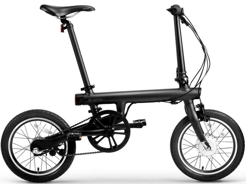 Электровелосипед Xiaomi Mijia QiCycle Folding Electric Bike Black Выгодный набор + серт. 200Р!!!
