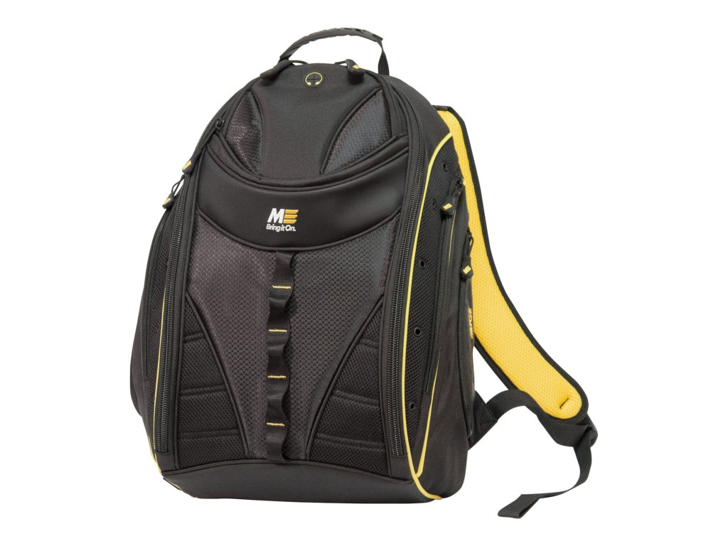 Рюкзак MobilEdge Express Backpack 2.0 Black-Yellow Trim MEBPE42