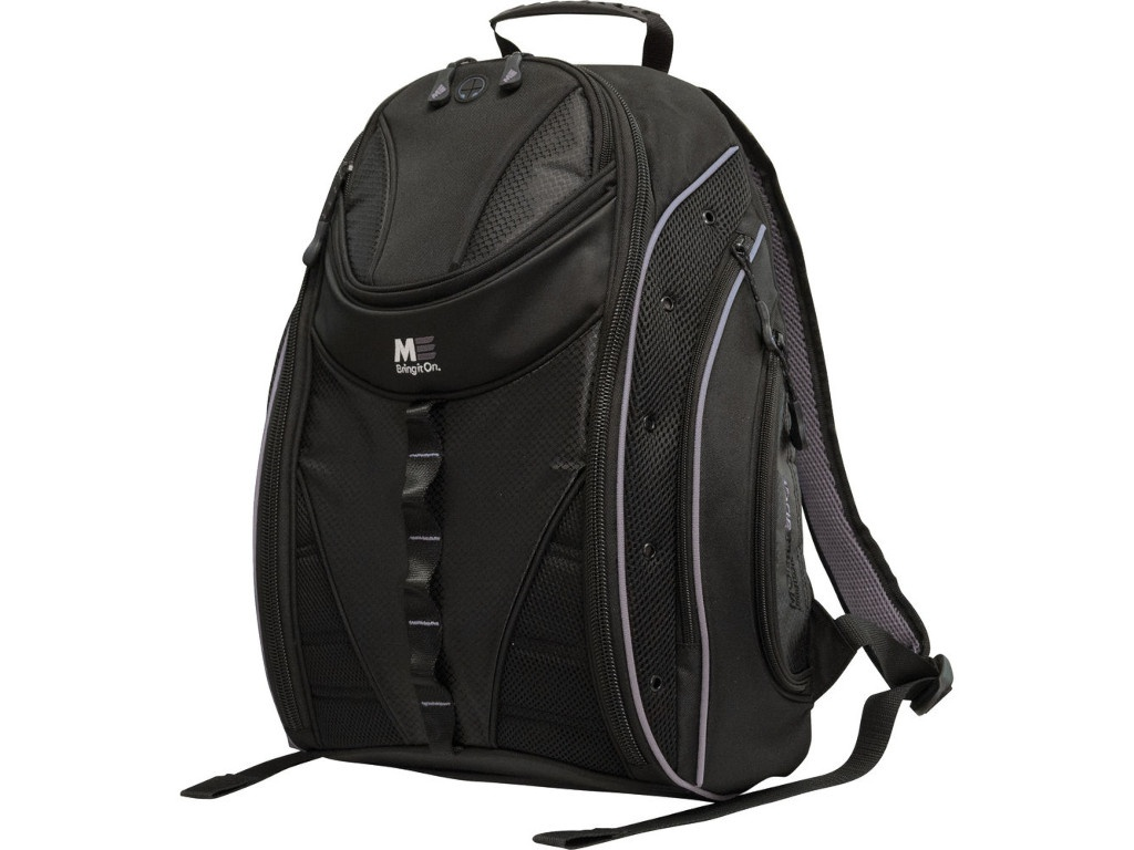 Рюкзак MobilEdge Express Backpack 2.0 Black-Silver Trim MEBPE22