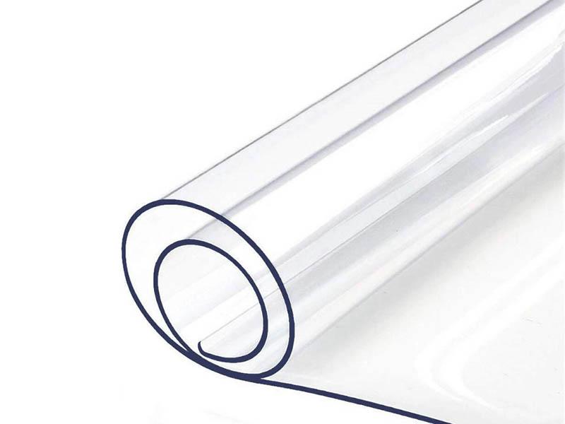 Пленка для подоконника Самобранка Гибкое стекло ПВХ 120x40cm