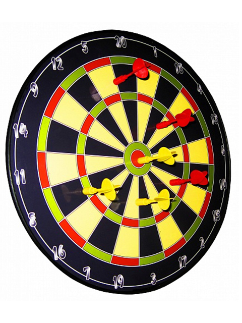 Набор для игры в дартс Larsen DG5615C 38cm 231930