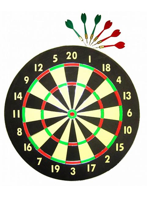 Набор для игры в дартс Larsen DG521810B 45cm 231931