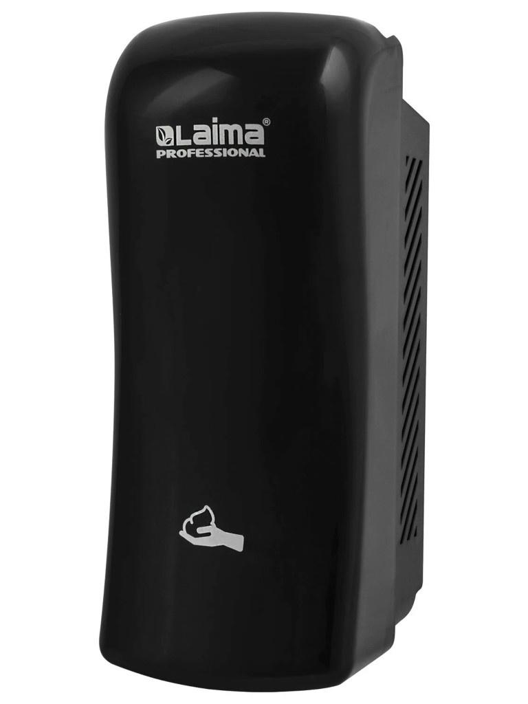 Диспенсер для жидкого мыла-пены Лайма Professional Original 800ml Black 605777