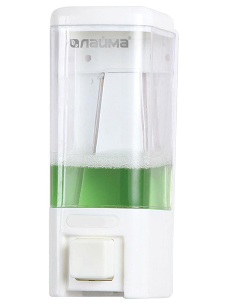 Диспенсер для жидкого мыла Лайма 480ml White 605052