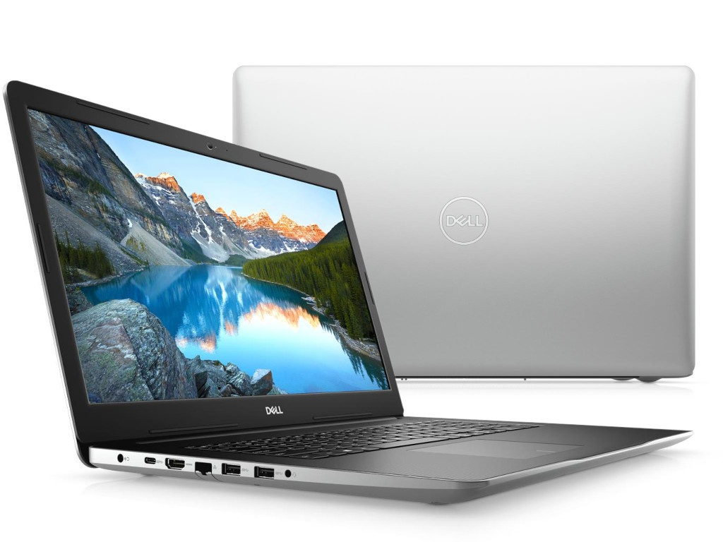 Ноутбук Dell Inspiron 3793 Silver 3793-8710 (Intel Core i3-1005G1 1.2 GHz/4096Mb/1000Gb/DVD-RW/Intel HD Graphics/Wi-Fi/Bluetooth/Cam/17.3/1920x1080/Windows 10 Home 64-bit)