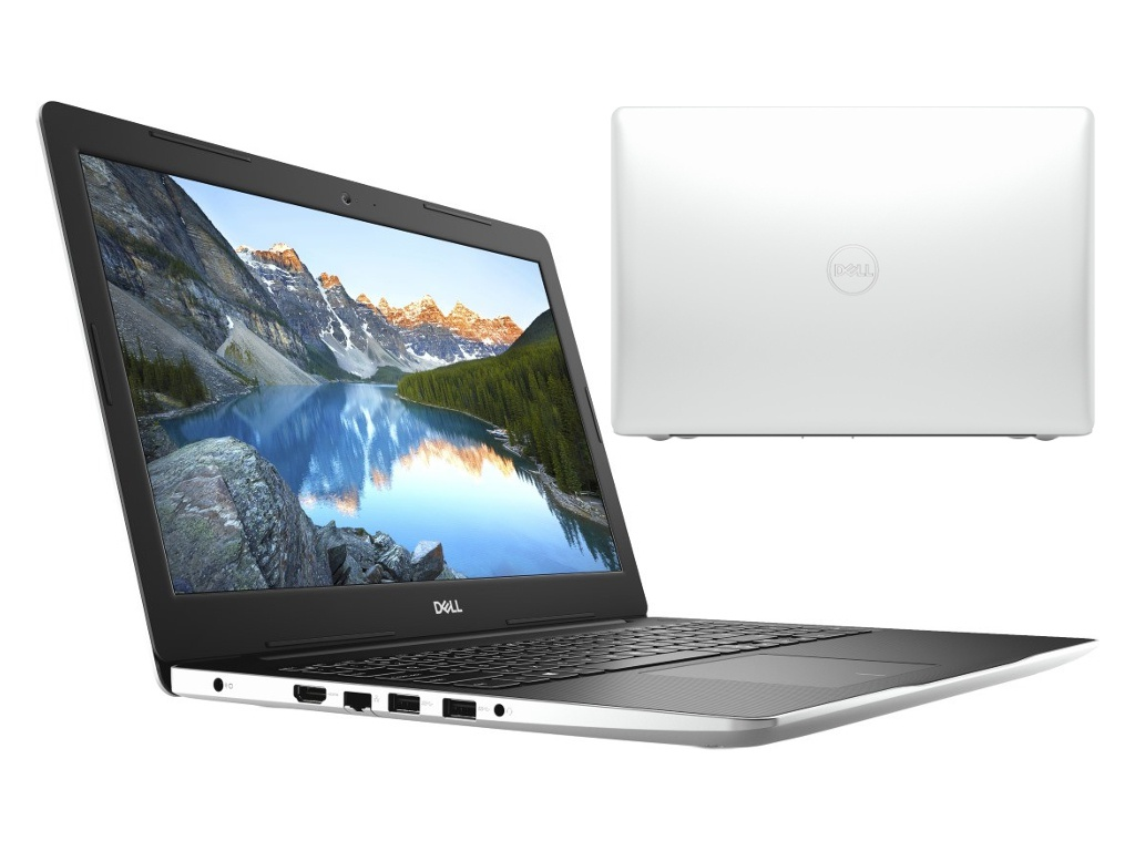 Ноутбук Dell Inspiron 3583 White 3583-8574 (Intel Pentium 5405U 2.3 GHz/4096Mb/128Gb SSD/Intel HD Graphics/Wi-Fi/Bluetooth/Cam/15.6/1920x1080/Linux)